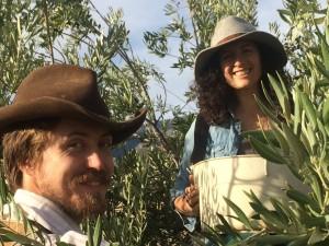 1.Jack & Jenya harvesting